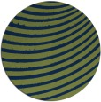 rug #943289 | round green abstract rug