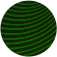 rug #943305 | round green abstract rug