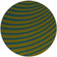 rug #943325 | round green abstract rug