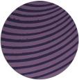 rug #943345   round purple circles rug