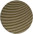 rug #943361 | round mid-brown retro rug
