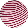 rug #943365 | round red circles rug