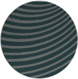rug #943377 | round green stripes rug