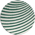 rug #943381 | round green circles rug