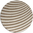 rug #943397 | round mid-brown retro rug