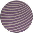 rug #943429 | round purple retro rug