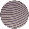 rug #943430 | round retro rug