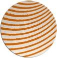 rug #943449 | round orange circles rug