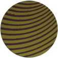 rug #943481 | round green circles rug