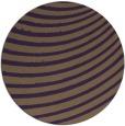 rug #943485 | round purple circles rug