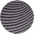 rug #943489 | round purple stripes rug