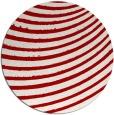 rug #943493 | round red circles rug