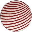 rug #943501 | round red circles rug