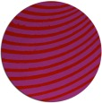 rug #943505 | round red rug