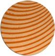 rug #943513 | round red-orange circles rug