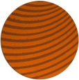 rug #943517 | round red-orange abstract rug