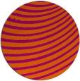 rug #943519 | round retro rug
