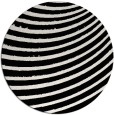 rug #943525 | round white circles rug
