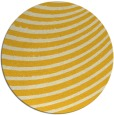 rug #943549 | round yellow abstract rug