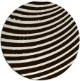 rug #943557 | round brown retro rug