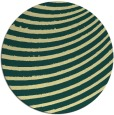 rug #943569 | round yellow popular rug