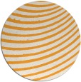 rug #943601 | round light-orange stripes rug