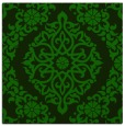 rug #944025 | square green traditional rug