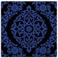 rug #944137   square black damask rug