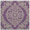 rug #944149   square purple geometry rug