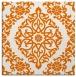 rug #944169   square orange traditional rug