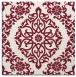 rug #944185 | square pink rug