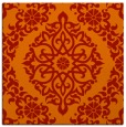 rug #944217 | square red traditional rug