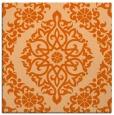 rug #944233   square red-orange traditional rug