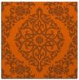 rug #944237 | square red-orange rug
