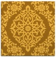 rug #944285 | square yellow traditional rug