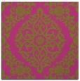 rug #944301 | square light-green traditional rug