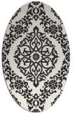 rug #944331 | oval damask rug