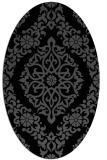 rug #944334 | oval traditional rug