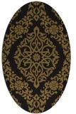 rug #944346 | oval traditional rug