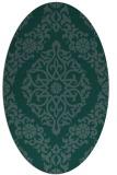 rug #944368 | oval damask rug