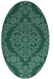 rug #944382 | oval damask rug