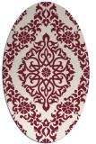 rug #944545 | oval flags rug