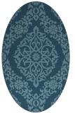 rug #944624 | oval traditional rug