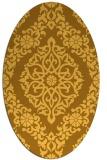 rug #944645 | oval light-orange traditional rug
