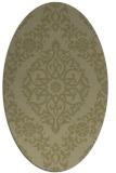 rug #944657   oval light-green popular rug