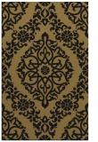 rug #944713 |  mid-brown damask rug