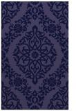 rug #944773 |  blue-violet traditional rug