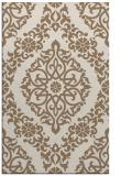 rug #944837 |  beige damask rug