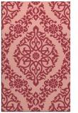 rug #944909    pink traditional rug