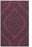 rug #944917 |  purple geometry rug